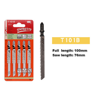 Image 5 - 5PCS Jigsaw Blades Wood Cutter Saw Blade T111C T111D T144D T244D T344D T118A T127D T101B for Bosch Dewalt Hitachi Makita Festool