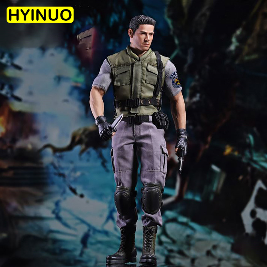 1/6 Scale Biochemical Police Police Suit Chris Redfield For 12