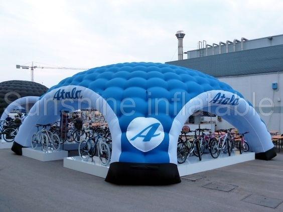 8MDia nov priljubljen večnamenski velik napihljivi šotor za igloo šotor za oglaševanje avtomobilov na prostem