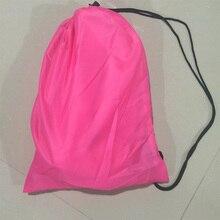 Lazy Bag Laybag Establecer la Bolsa Inflable de Aire Que Acampa Saco de dormir Rápido Plátano Salón Sofá Para Dormir Cama De Playa Bolsa