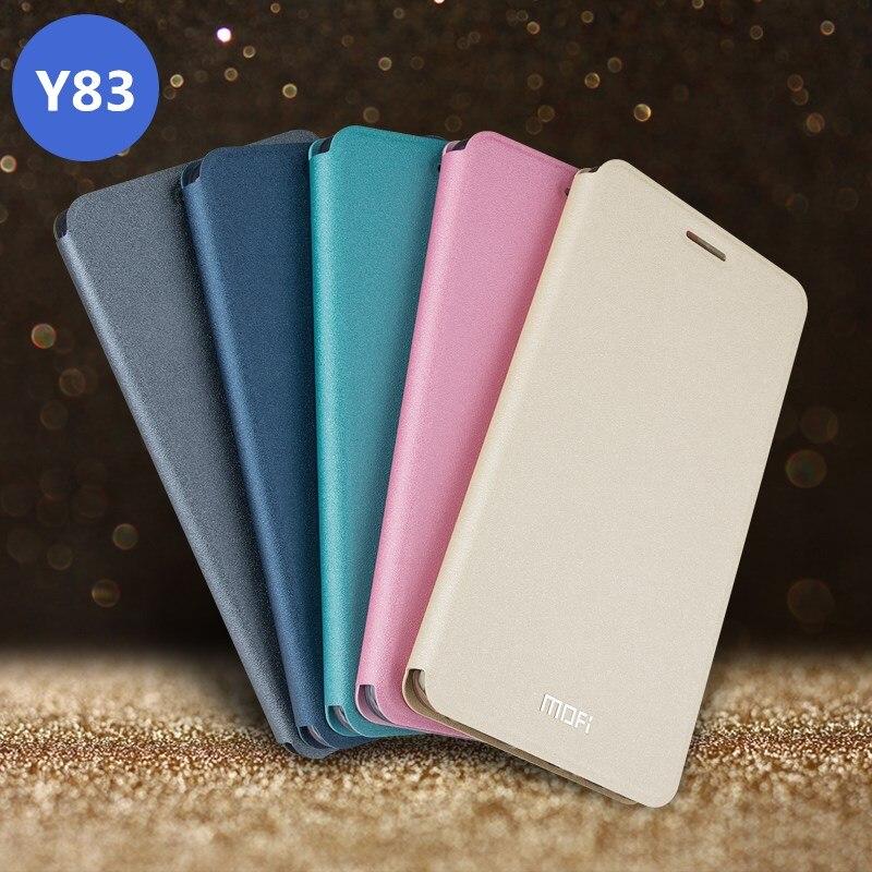 VIVO Y83 Case Cover VIVO Y 83 Flip Cover Leather Full Protect Shockproof Phone Case Coque MOFi Original Y83A Case 6.22
