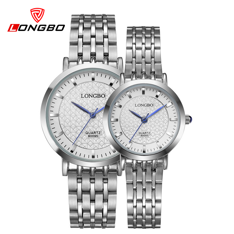 LONGBO Super quality waterproof quartz watch men simple lovers watches women classic fashion casual luxury business clock 80095