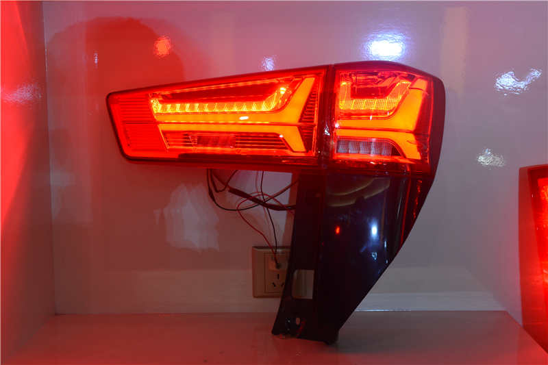 Free shipping for China VLAND Car led taillight for 2016-2017 New Innova Tail lamp With led Moving Signal light DRL+Brake light free shipping vland factory for  innova