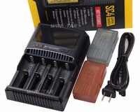 NITECORE SC4 inteligentne szybsze ładowanie doskonała ładowarka z 4 gniazdami 6A całkowita moc wyjściowa kompatybilny IMR 18650 14450 16340 AA baterii
