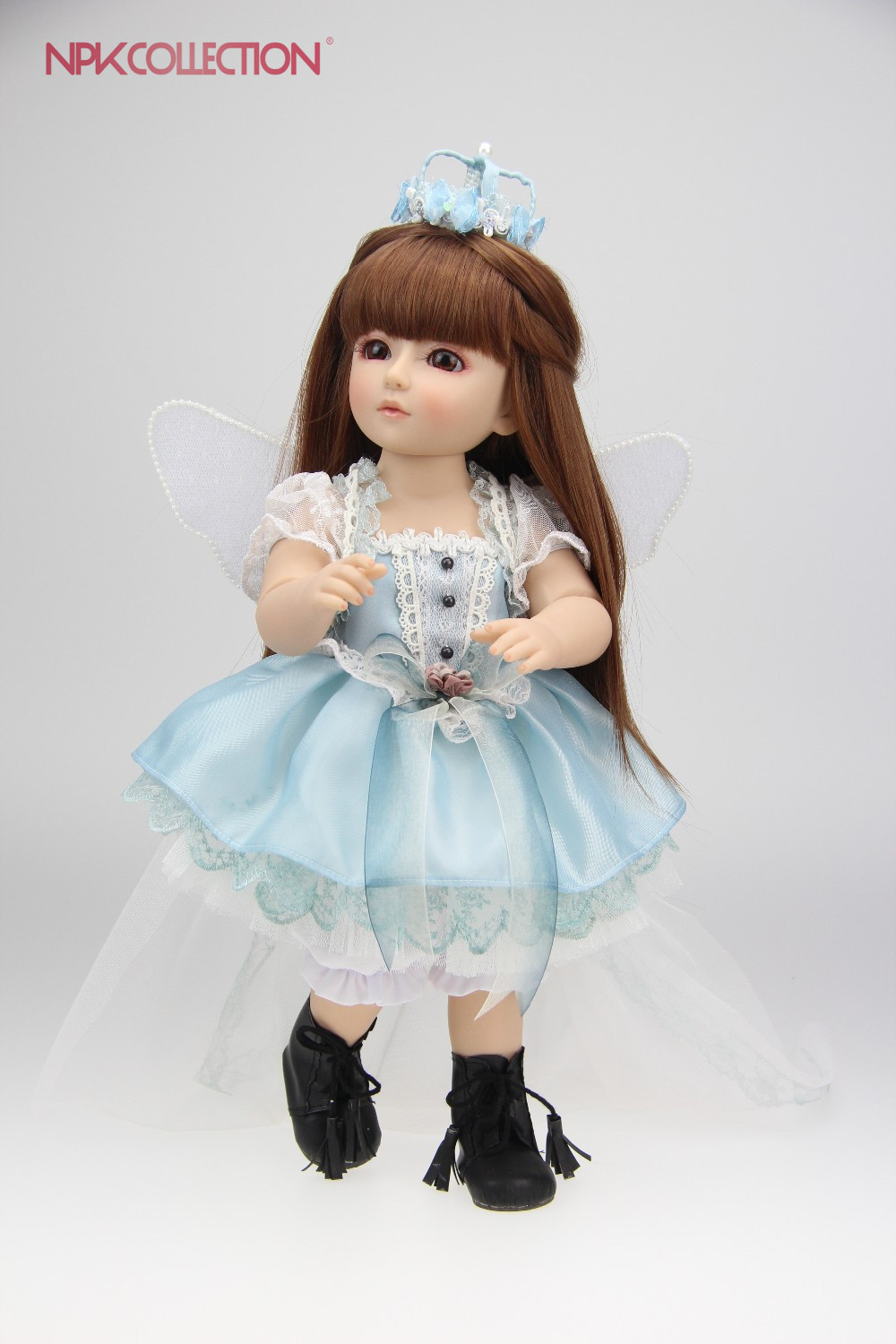 NPK 18 inch Beautiful SD/BJD doll high quality handmade doll poseable with joints кабель ввгнг п ls 2х1 5 рэмз 20м гост 17846