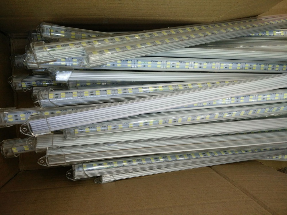 50pcs 100cm Factory Wholesale Double row DC12V 144 168SMD 5630 5730 LED Hard Rigid LED Strip