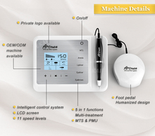 2017 Nieuwe Direct Selling Goochie Maquillaje Permanente Microblading Gratis Verzending Artmex V9 Digitale Permanente Make-up Machine
