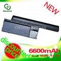 Golooloo 6600 mah bateria de 9 células para dell latitude d620 d630 312-0383 312-0386 451-10297 451-10298 jd634 pc764 tc030 td175