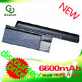 Golooloo 6600mAh 9 cell battery For Dell Latitude D620 D630 312-0383 312-0386 451-10297 451-10298 JD634 PC764 TC030 TD175