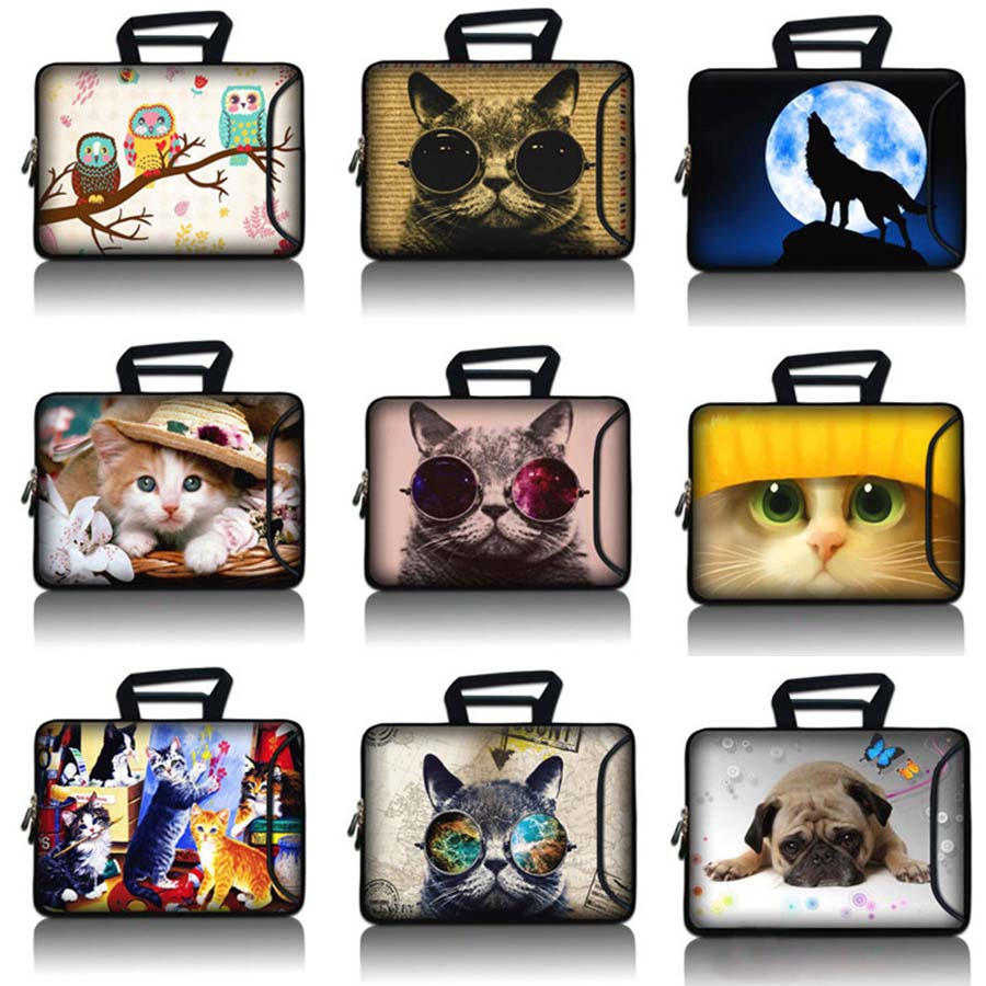 12 13 14 15 17 capa Tablet Saco manga Notebook Laptop maleta 10.1 11.6 13.3 14.1 15.6 17.3 para o caso macbook pro 13 SBP-hot14
