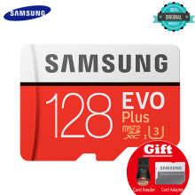 hot deal buy samsung memory card micro sd evo plus 256gb 128gb 64gb 32gb class10 c10 sdhc sdxc grade uhs-1 tf cards trans flash 4k microsd