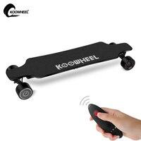 ترقية koowheel 4 عجلة الكهربائية longboard + استبدال الكهربائي سكيت سامسونج بطارية + البعيد التوجيه بالعجلات hoverboard