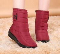Snow Boots 2017 Brand Women Winter Boots Mother Shoes Antiskid Waterproof Flexible Women Fashion Casual Boots