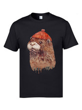 Cute River Otter Animal T Shirts Men Faddish Personalized Tops Tees O Neck 100 Cotton Birthday Gift Short Sleeve
