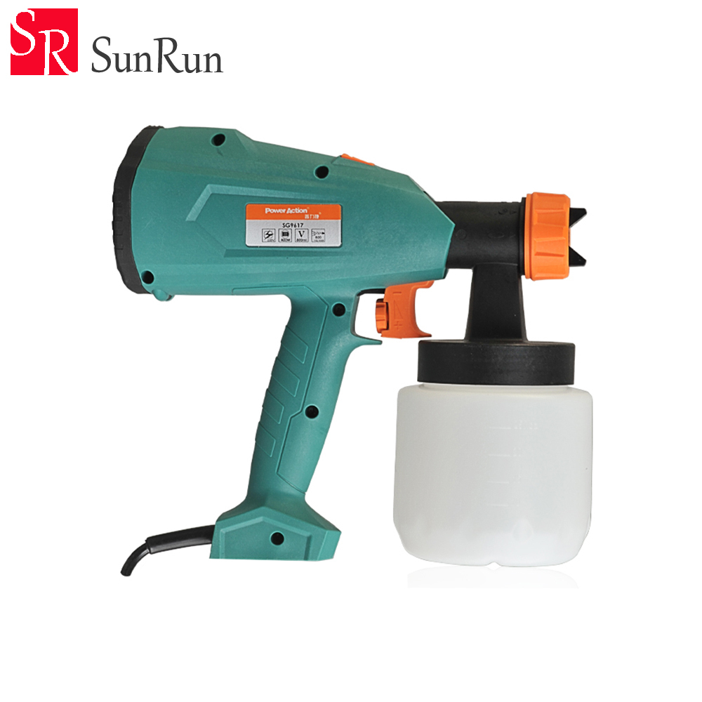 US $67 99 8% OFF|Multi function electric spray gun auto paint spray gun for  car vehicle painting painted high efficiency free shipping-in Tool Parts
