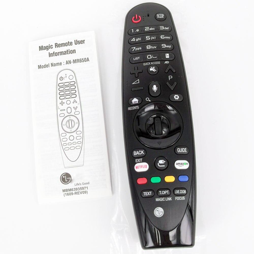 Nouveau AN-MR650A d'origine pour LG TV UJ639V 65UJ620Y Magic Remote Voice Mate sélectionnez 2017 téléviseurs intelligents série UJ63 Fernbedienung