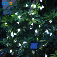 6M 30LEDs Solar String Lights Waterproof Christmas Holiday Lighting Outdoor Garden Decoration Crystal Ball Fairy Lamps