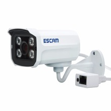 Escam QD300 Mini Bullet IP Camera 1.0 MP HD 720P Onvif P2P IR Outdoor Surveillance Night Vision Infrared Security CCTV Camera