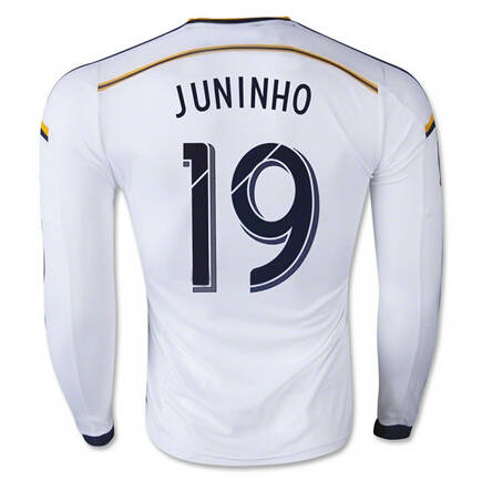 d22c3e7dbd placeholder Los Angeles Galaxy Soccer 10 Landon Donovan Long Sleeve Jersey LA  Galaxy Football Shirt Long 8