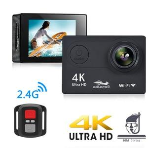 Image 2 - Action Camera H9R Ultra HD 4K WiFi Remote Control Sports Video Recording Camcorder DVR DV go Waterproof pro Mini Helmet Camera