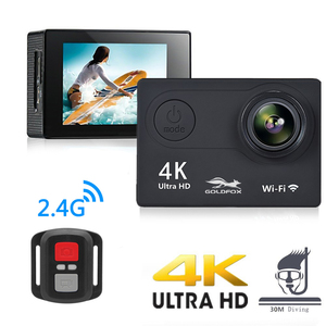 Image 2 - Action Kamera H9R Ultra HD 4K WiFi Fernbedienung Sport Video Aufnahme Camcorder DVR DV gehen Wasserdicht pro Mini helm Kamera