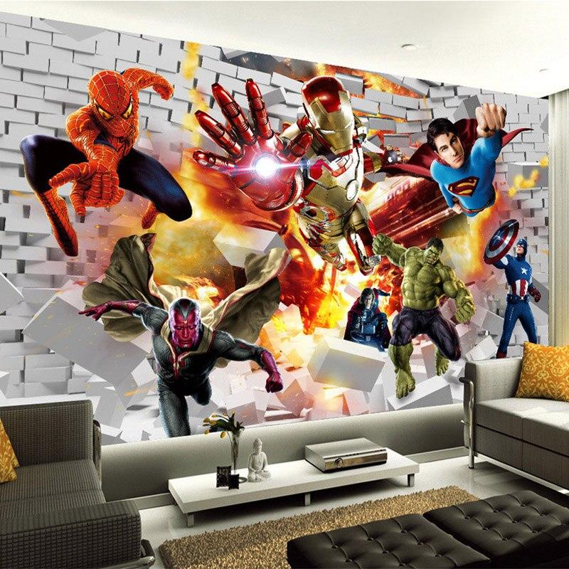 Avengers wallpaper 3d photo wallpaper hulk iron man - Wallpaper avengers 3d ...