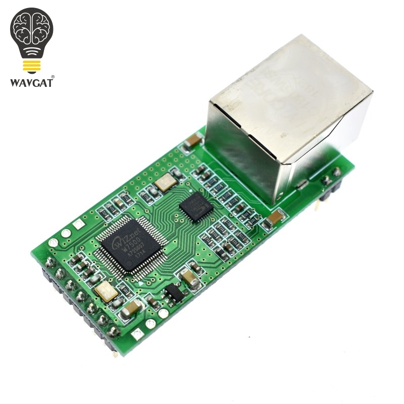 Serial To Ethernet Converter Module S2E Serial UART TTL To Ethernet TCPIP Module  DHCP And DNS Web Config Tool For USR-TCP232-T2