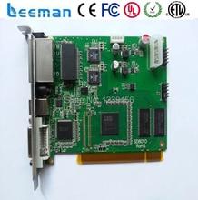 Leeman lINSN ts 802 linsn отправки карты-P8 управления led дисплей легко быть TS802 801 отправки карты светодиодный дисплей linsn 802 управления карты