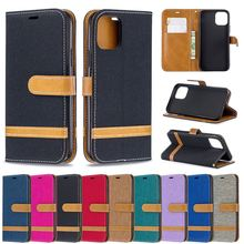 for iPhone XI 5.8 inch Case PU Leather and Cowboy Flip Stand Anti Scratch Protective Wallet Cover for 2019 Iphone XI Case Luxury недорого
