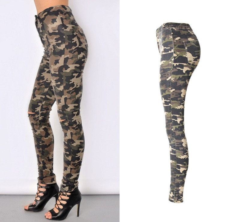 New Fashion Skinny Ripped Jeans 6