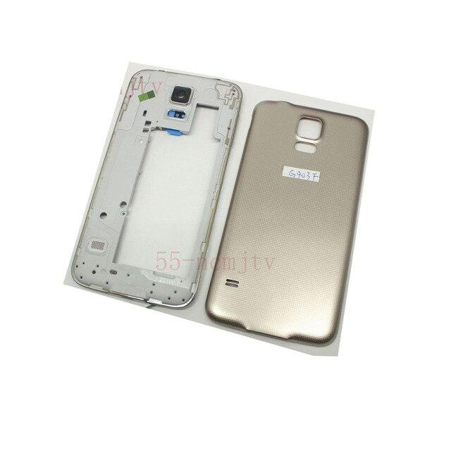 Аккумулятор назад Крышка Корпуса Двери Для Samsung G903 Galaxy S5 Neo