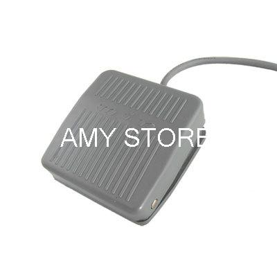 TFS-201 Nonslip Surface Gray Foot Switch Momentary Contact Type