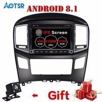 2 din TDA7851 1024*600 Android 8.1 For Hyundai H1 2016 Octa Core 2G RAM Car DVD Player GPS Glonass Map RDS Radio wifi Bluetooth
