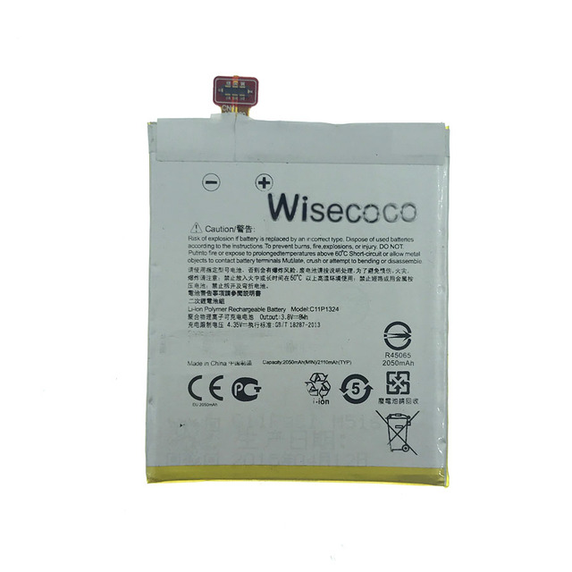 Wisecoco C11P1324 Battery For ASUS ZenFone 5 Z5 A500 A500CG A501CG A500KL T00J with tracking number