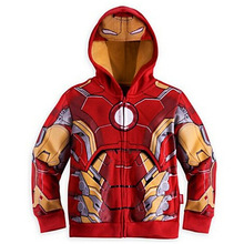 Spring Autumn The Avengers Iron Man Children Hoodies Sweatshirt Boys Girls Coat Kids Long Sleeve Casual Outwear Kids Clothes