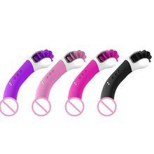 G spot Vibrator Dildo Vibrators USB Rechargeable Clitoris Stimulation with 12 Vibration Modes Dual Motor Anal Sex Toys for Women