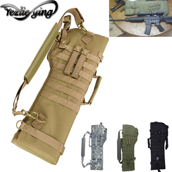 Tactical Rifle Sheath Backpack Outdoor Hunting Backpack Holster Airgun Air Rifle Bag Long Gun Protection Strap Hunting Bag