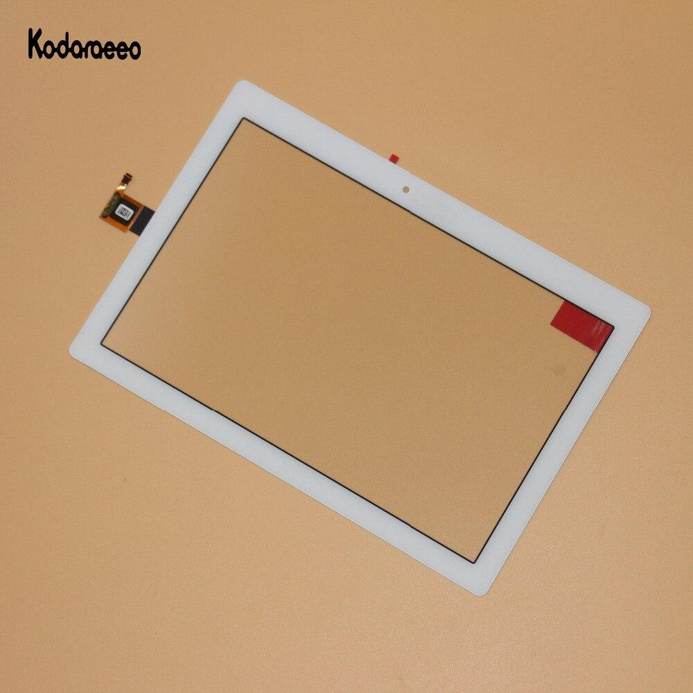 Kodaraeeo para Lenovo Tab 2 A10-30 YT3-X30 X30F TB2-X30F TB2-X30L A6500 reparación del vidrio del digitizador de la pantalla táctil reemplazo blanco