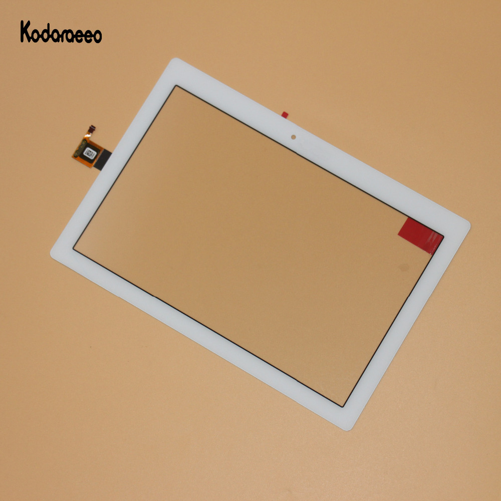 Kodaraeeo For Lenovo Tab 2 A10-30 YT3-X30 X30F TB2-X30F TB2-X30L A6500 Touch Screen Digitizer Glass Repair Replacement White