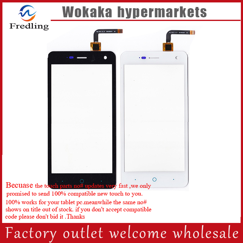 New Black White Touch Screen For Blade L3 Glass Lens Sensor 5 0 Front Touch Panel