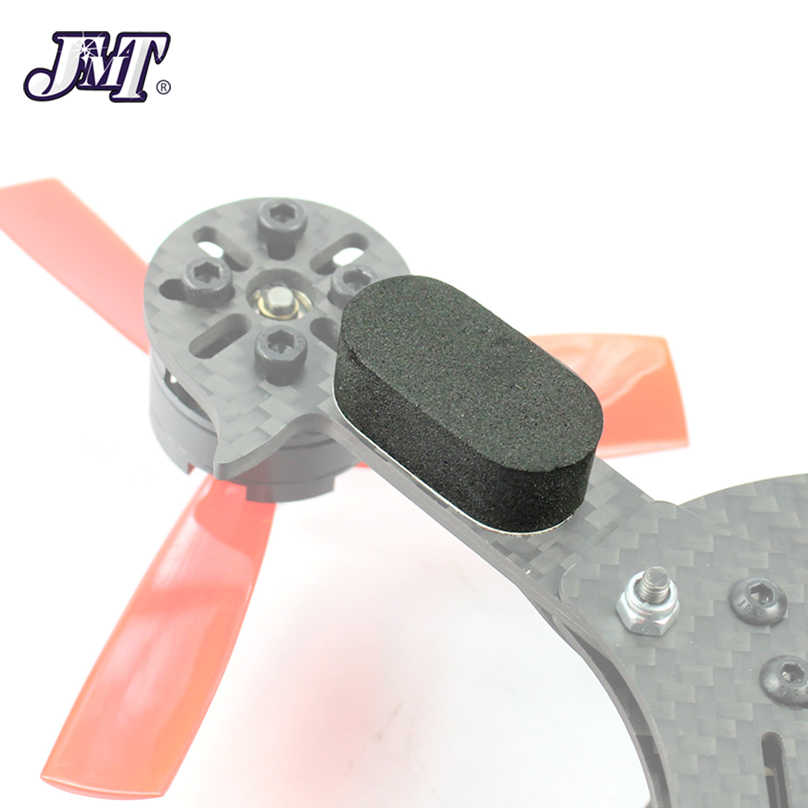 4 unids/set almohadilla de pie de esponja a prueba de sacudidas ultraligero para 130 180 210 250 FPV Racer RC Drone Quadcopter