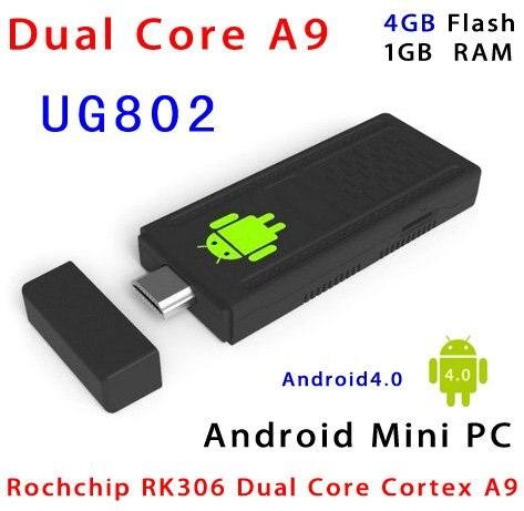 Latest Firmware WiFi Plus Version Mini PC UG802 Dual Core RK3066 1 6