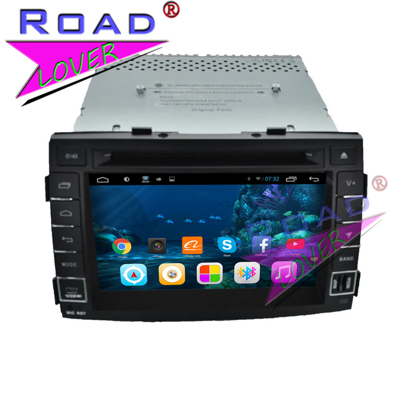 TOPNAVI 2G+32GB Quad Core Android 6.0 Car Media Center DVD Player For KIA Sorento 2011 Stereo GPS Tracker Auto Navigator Radio