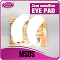 50 pairs Top selling New technology Zero sensitive Eye pads for eyelash extension eye gel patches Eye Stickers No Odor