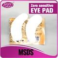 50 pairs Top venda Nova tecnologia Zero sensível almofadas Olho para cílios extensão olho manchas de gel Olho Adesivos Nenhum Odor