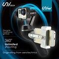Unitech Unigo + de Mano Cámara Gopro Cardán W/Teléfono Inteligente Cuna/Soporte de $ Number Ejes 360 de Rotación de La Cámara Estabilizador