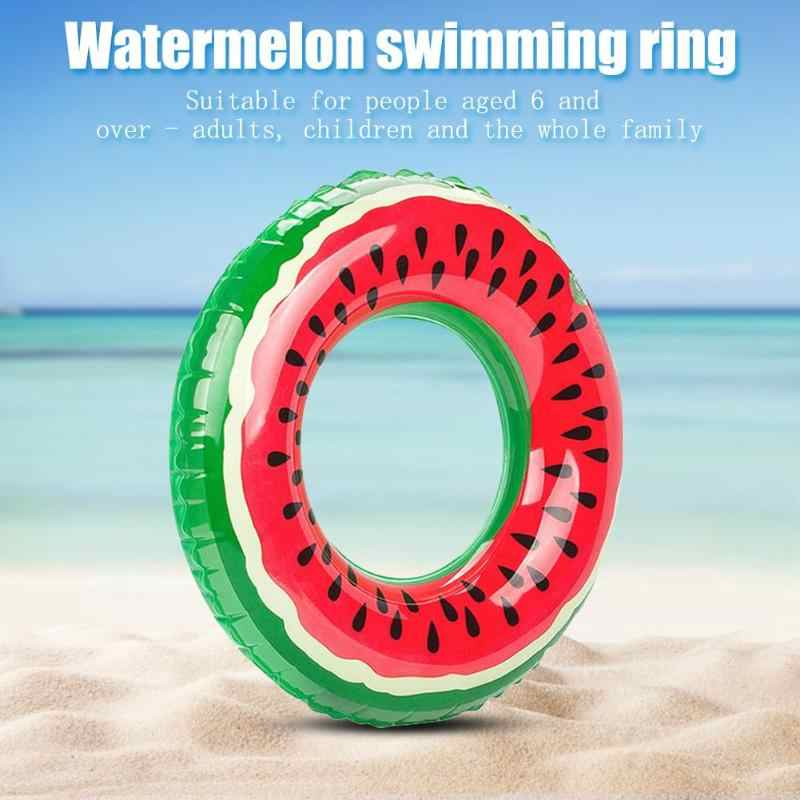 Anguria Anello di Nuoto Gonfiabile Galleggia Piscina di Nuoto del Galleggiante Per I Bambini Bambini Adulti Gonfiabile Acqua Giocattolo di Sport