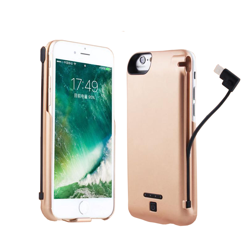 low priced efb2e decd5 5000mAh Rechargeable Battery Charger Case for iPhone 6 6s 7 Power ...