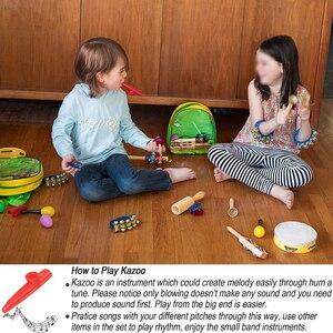 Image 5 - Dụng Cụ Âm Nhạc Đồ Chơi Dành Cho Trẻ Em Bộ Gõ Bộ Cho Bé Mầm Non Giáo Dục Học Âm Nhạc Đồ Chơi Quà Tặng Cho Trẻ Em