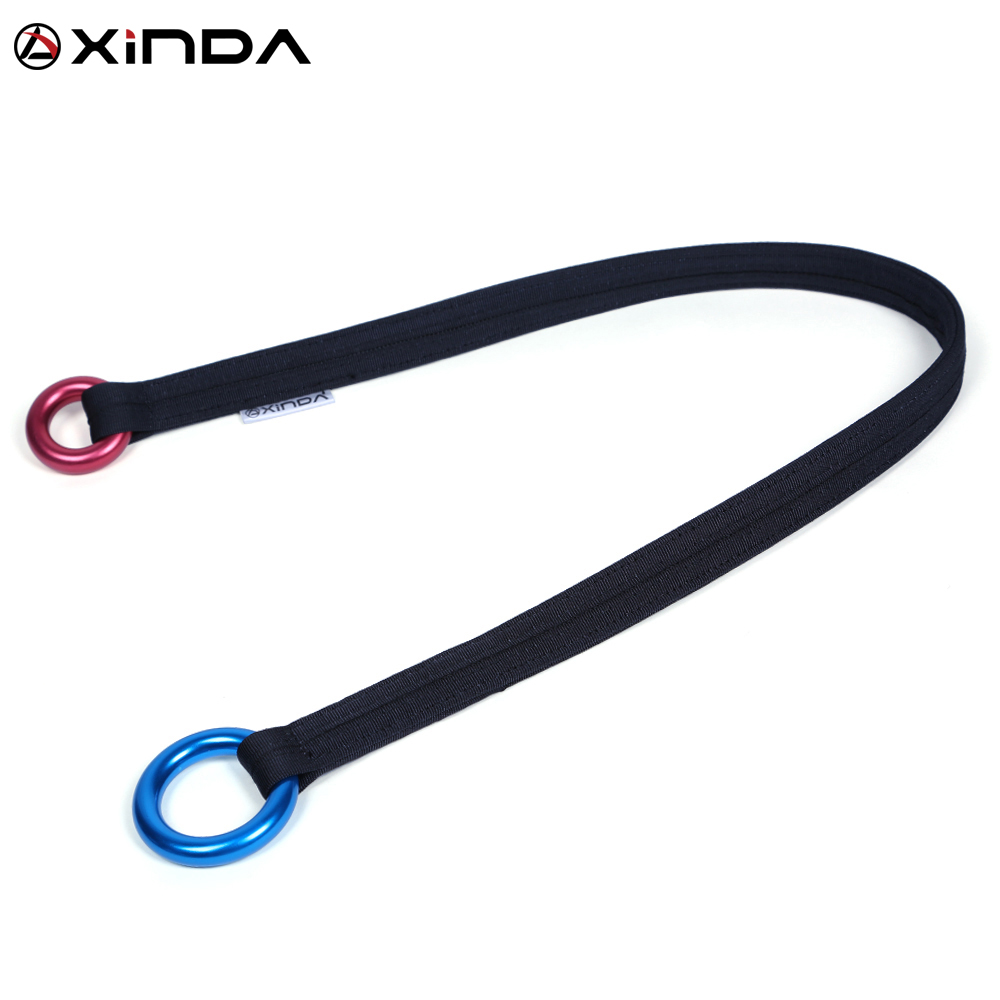 Xinda Outdoor Tree Climbing Loop Garden Anchorage Outreach Activities Climbing Tree Sling Link Bark Protector Camping Equipment